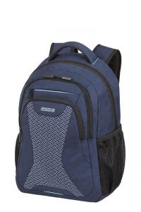 "American Tourister Batoh na notebook AT Work 15,6"" Knit 25 l – modrá"
