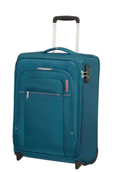 American Tourister Kabinový cestovní kufr Crosstrack Upright 42 l – modrá