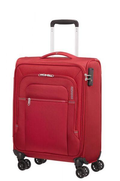 American Tourister Kabinový cestovní kufr Crosstrack 40 l – červená