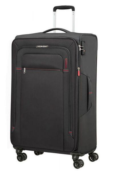 American Tourister Látkový cestovní kufr Crosstrack EXP L 109,5/119 l – tmavě šedá