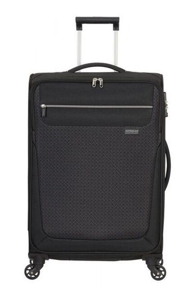 American Tourister Látkový cestovní kufr Sunny South M 64,5 l – černá