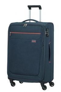American Tourister Látkový cestovní kufr Sunny South M 64,5 l – tmavě modrá