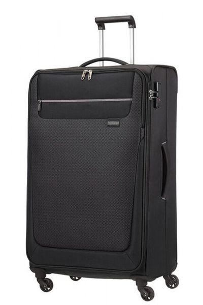 American Tourister Látkový cestovní kufr Sunny South L 103 l – černá