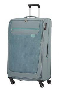 American Tourister Látkový cestovní kufr Sunny South L 103 l – šedá