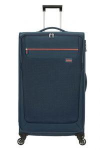 American Tourister Látkový cestovní kufr Sunny South L 103 l – tmavě modrá
