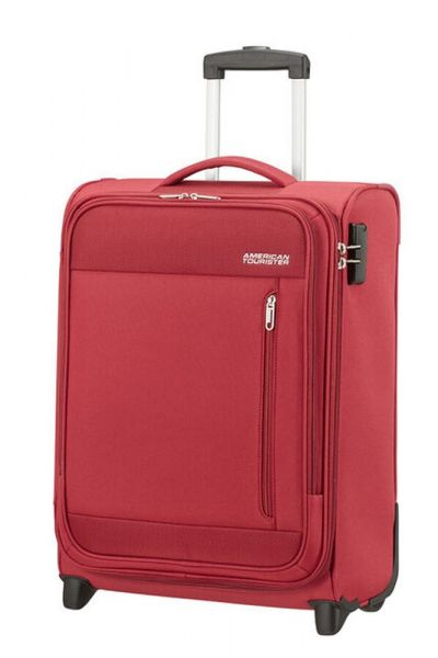 American Tourister Kabinový cestovní kufr Heat Wave Upright 42 l – červená