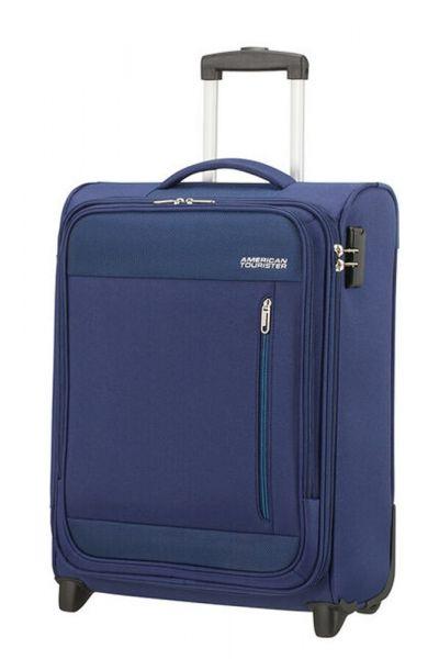 American Tourister Kabinový cestovní kufr Heat Wave Upright 42 l – modrá