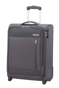 American Tourister Kabinový cestovní kufr Heat Wave Upright 42 l – šedá