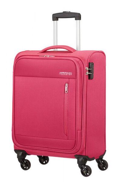 American Tourister Kabinový cestovní kufr Heat Wave 38 l – růžová