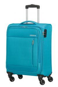 American Tourister Kabinový cestovní kufr Heat Wave 38 l – světle modrá