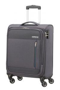 American Tourister Kabinový cestovní kufr Heat Wave 38 l – šedá