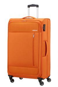 American Tourister Látkový cestovní kufr Heat Wave L 92 l – oranžová
