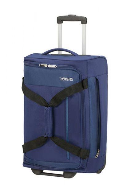 American Tourister Cestovní taška na kolečkách Heat Wave 45 l – modrá