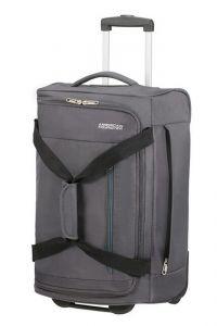 American Tourister Cestovní taška na kolečkách Heat Wave 45 l – šedá