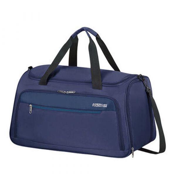 American Tourister Cestovní taška Heat Wave Duffle 50 l – modrá