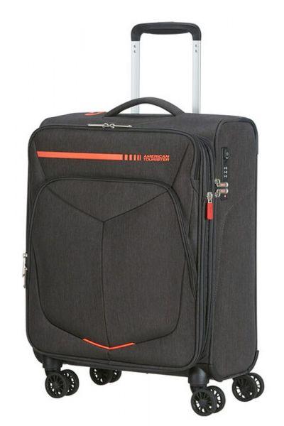 American Tourister Kabinový cestovní kufr Summerfunk Neon EXP 43/46 l – oranžová