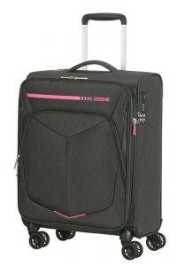 American Tourister Kabinový cestovní kufr Summerfunk Neon EXP 43/46 l – růžová