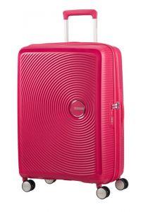 American Tourister Cestovní kufr Soundbox Spinner EXP 32G 71,5/81 l – fuchsiová
