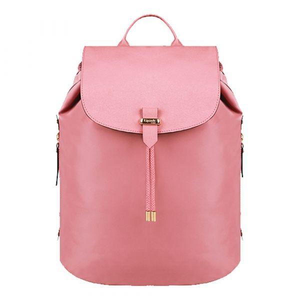 Lipault Dámský batoh Plume Avenue M P66*003 15,4 l – růžová