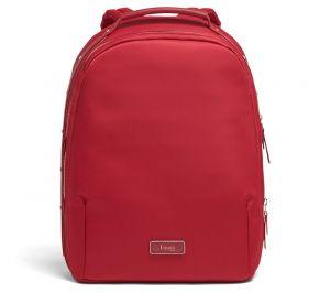 Lipault Dámský batoh Business Avenue M 14 l – červená