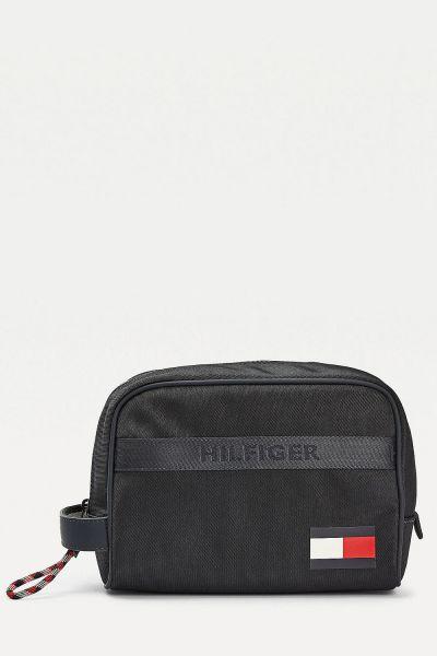Tommy Hilfiger modrá pánská kosmetická taška Tommy Washbag Corporate