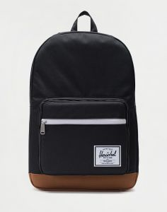 Herschel Supply Pop Quiz BLK/SADDLE