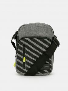 Šedá pánská vzorovaná croosbody taška LOAP