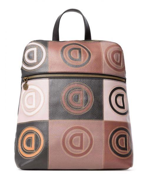 Desigual béžový batoh Back Logo Patch Nanaimo