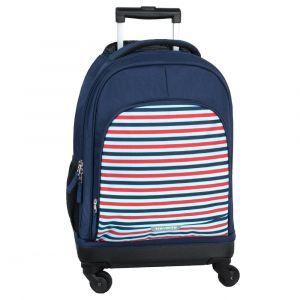Travelite Dětský cestovní kufr Mini-Trip 4w S Stripes 32 l