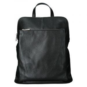 Kožený dámský batoh Unidax Marion – černá