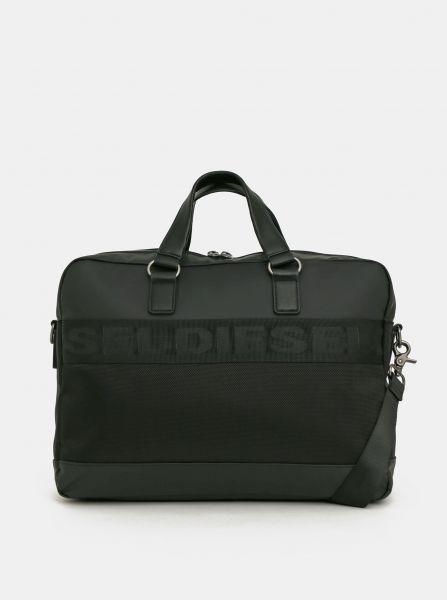 Černá pánská taška na notebook Diesel