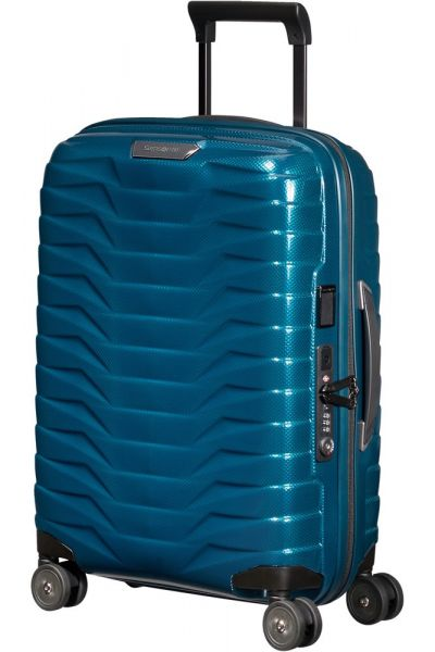 Samsonite Kabinový cestovní kufr Proxis EXP S 38/44 l – modrá