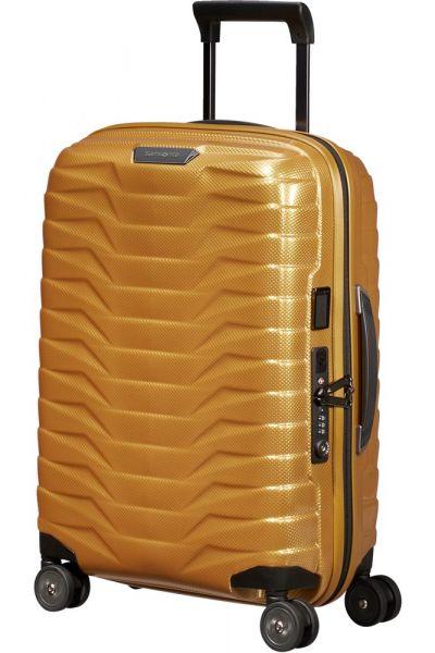 Samsonite Kabinový cestovní kufr Proxis EXP S 38/44 l – zlatá