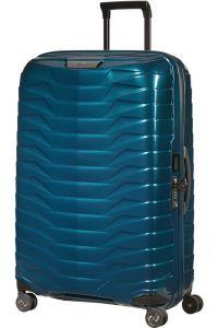 Samsonite Skořepinový cestovní kufr Proxis L 98 l – modrá