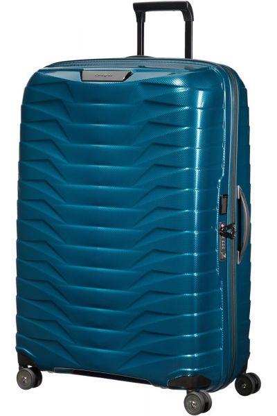 Samsonite Skořepinový cestovní kufr Proxis XL 125 l – modrá