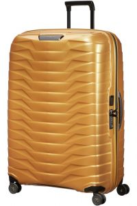 Samsonite Skořepinový cestovní kufr Proxis XL 125 l – zlatá