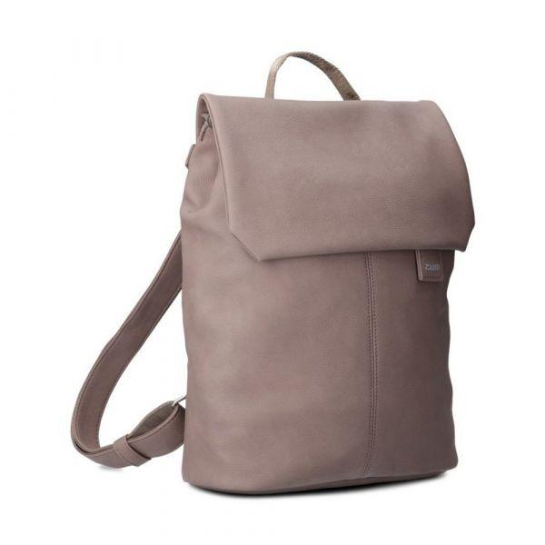 Zwei Dámský batoh Mademoiselle Nubuk MR13 – šedo hnědá