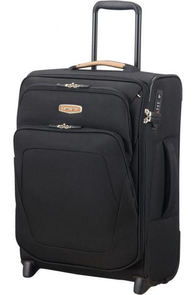 Samsonite Kabinový cestovní kufr Spark SNG ECO EXP S Upright 48,5/57 l – černá