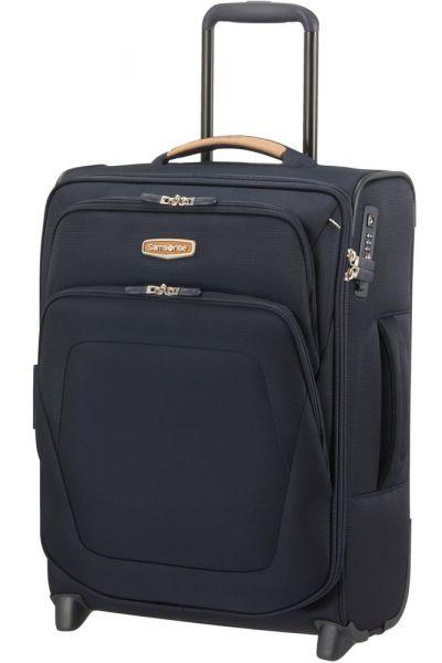 Samsonite Kabinový cestovní kufr Spark SNG ECO EXP S Upright 48,5/57 l – modrá