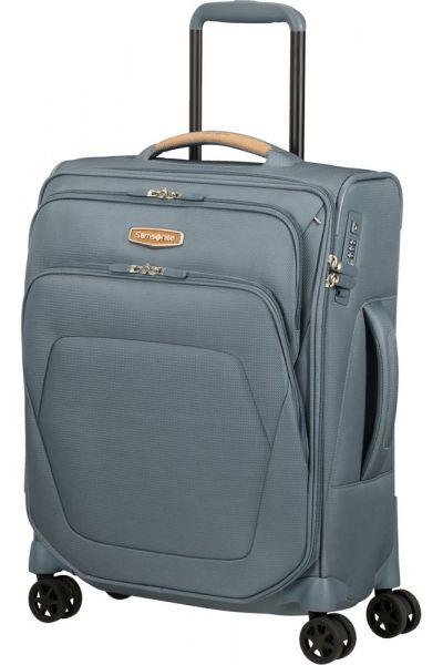 Samsonite Kabinový cestovní kufr Spark SNG ECO S 40 cm 43 l – šedá