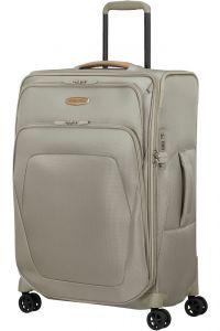 Samsonite Látkový cestovní kufr Spark SNG ECO M EXP 82/92 l – béžová