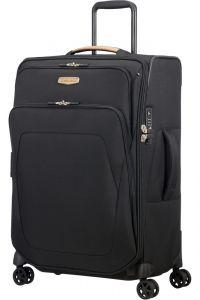Samsonite Látkový cestovní kufr Spark SNG ECO M EXP 82/92 l – černá