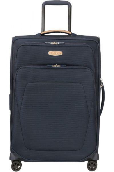 Samsonite Látkový cestovní kufr Spark SNG ECO M EXP 82/92 l – modrá