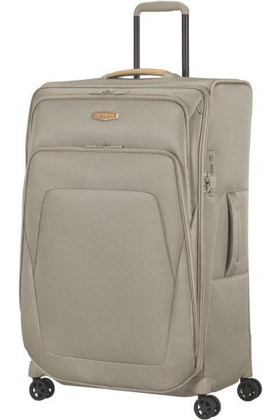 Samsonite Látkový cestovní kufr Spark SNG ECO L EXP 124/140 l – béžová