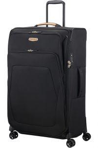 Samsonite Látkový cestovní kufr Spark SNG ECO L EXP 124/140 l – černá