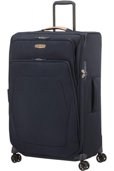 Samsonite Látkový cestovní kufr Spark SNG ECO L EXP 124/140 l – modrá