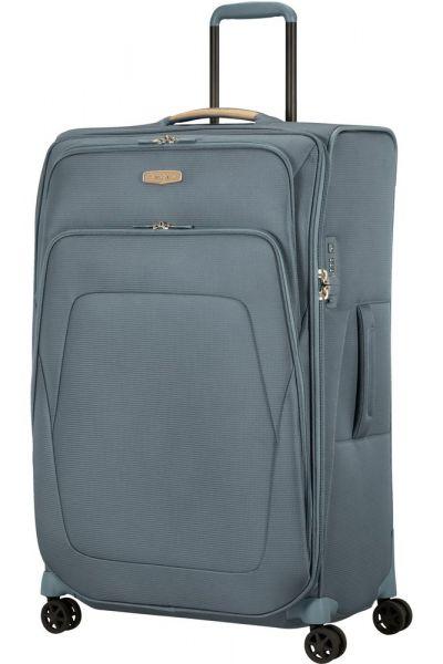 Samsonite Látkový cestovní kufr Spark SNG ECO L EXP 124/140 l – šedá