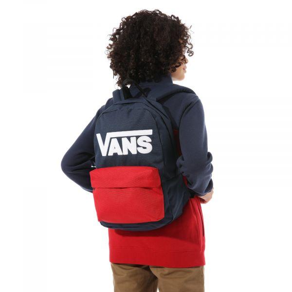 By new skool backpack boys Modrá