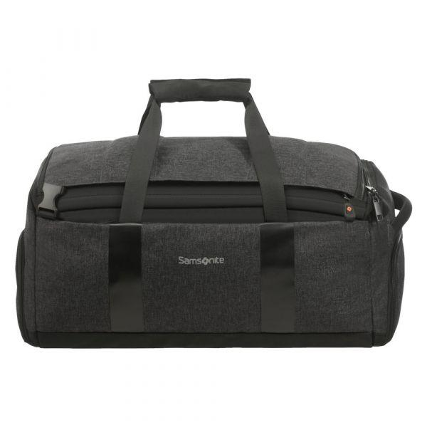 Samsonite Cestovní taška/batoh 2v1 Bleisure 43 l – tmavě šedá