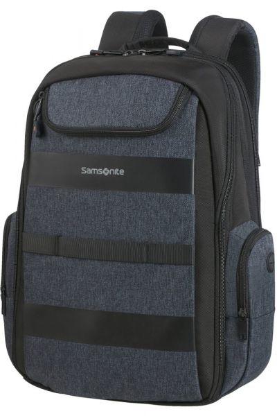 "Samsonite Batoh na notebook 15,6"" Bleisure EXP Daytrip 22,3/27,3 l – tmavě modrá"